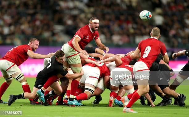 Xxx during the Rugby World Cup 2019 Group B game between New Zealand and Canada at Oita Stadium on October 02, 2019 in Oita, Japan.