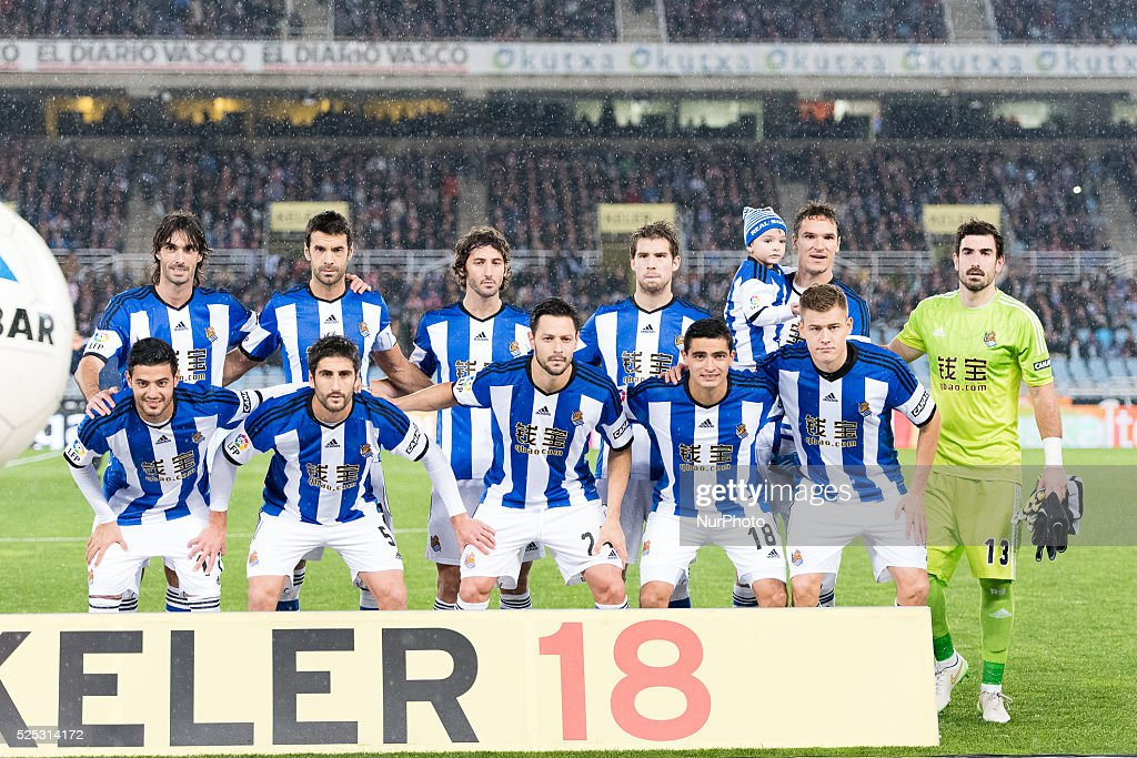 xxx in the match between Real Sociedad and Athletic de ...