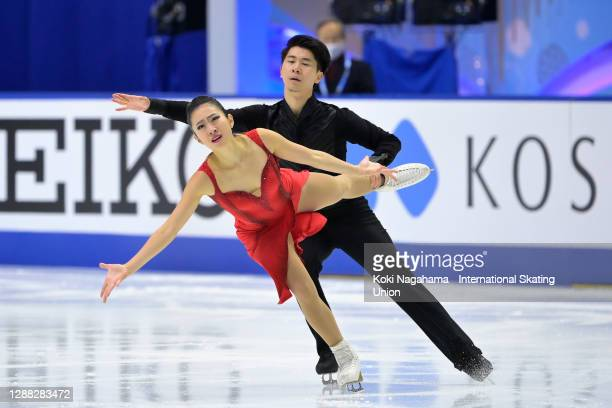 Xxx of xxx performs during the ISU Grand Prix of Figure Skating NHK Trophy at Towa Pharmaceutical RACTAB Dome on November 28, 2020 in Kadoma, Osaka,...