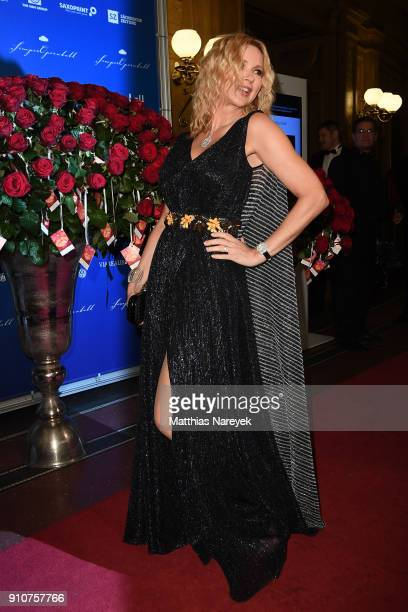 xxxx arrives for the Semper Opera Ball 2018 at Semperoper on January 26 2018 in Dresden Germany
