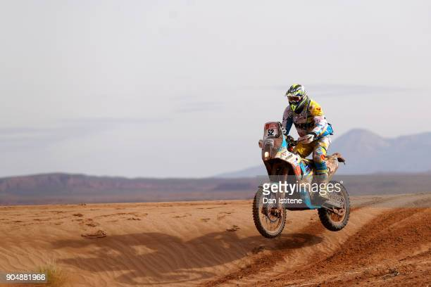 xxxx during stage eight of the 2018 Dakar Rally between Uyuni and Tupiza on January 14 2018 in UNSPECIFIED Bolivia