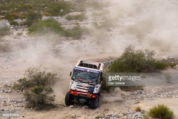 xxxx during stage eleven of the 2018 Dakar Rally between Belen Fiambala and Chilecito on January 17 2018 in UNSPECIFIED Argentina