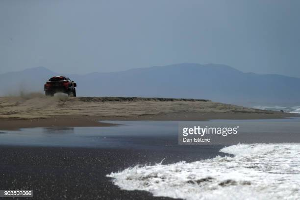 xxxx during stage five of the 2018 Dakar Rally between San Juan de Marcona and Arequipa on January 10 2018 in UNSPECIFIED Peru