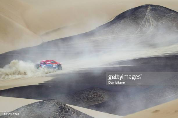 xxxx during stage two of the 2018 Dakar Rally a loop stage to and from Pisco on January 7 2018 in UNSPECIFIED Peru