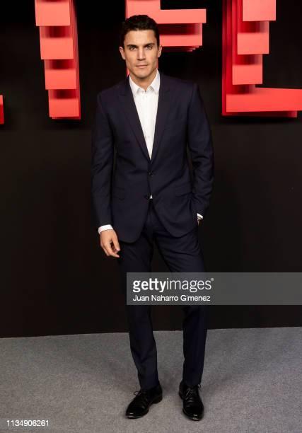Xxxxxx attends the red carpet during the Netflix presentation party at the Invernadero del Palacio de Cristal de la Arganzuela on April 4 2019 in...