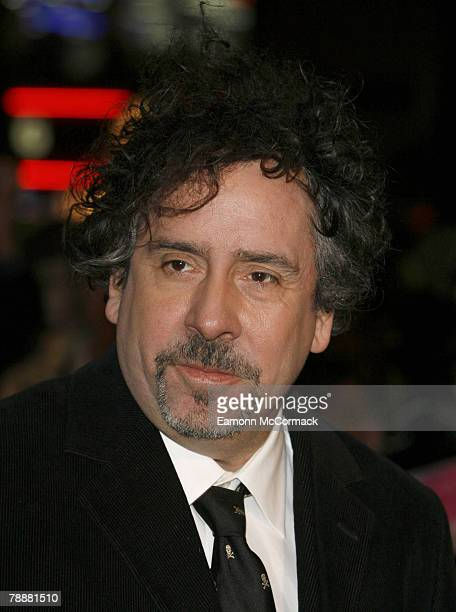 """Xxxxxxxxx attends the """"Sweeney Todd: The Demon Barber of Fleet Street"""" film premiere at the Odeon Leicester Square on January 10, 2008 in London,..."""