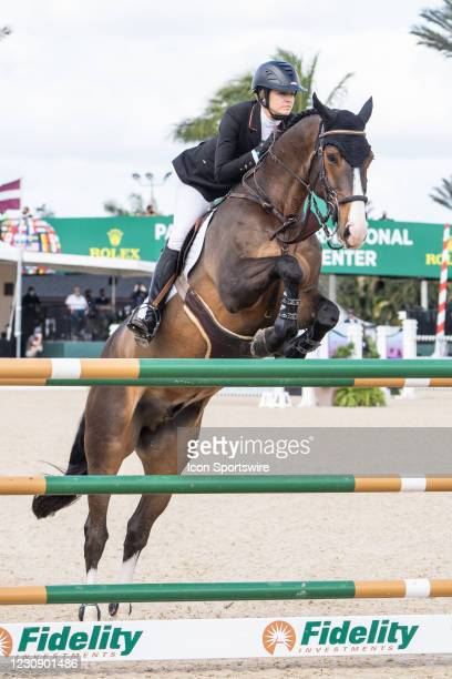Xxxxxxxxx during the $37,000 FEI CaptiveOne Advisors 1.50m Classic 238.2.2 at the Winter Equestrian Festival on January 30, 2021 at The Palm Beach...