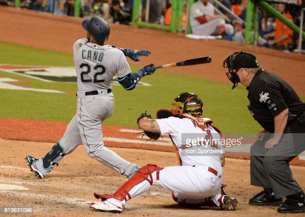 Xxxxxxxxx during the AllStar game between the National League and the American League on July 11 2017 at Marlins Park in Miami FL