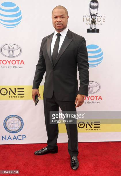 Xzibit arrives at the 48th NAACP Image Awards at Pasadena Civic Auditorium on February 11 2017 in Pasadena California
