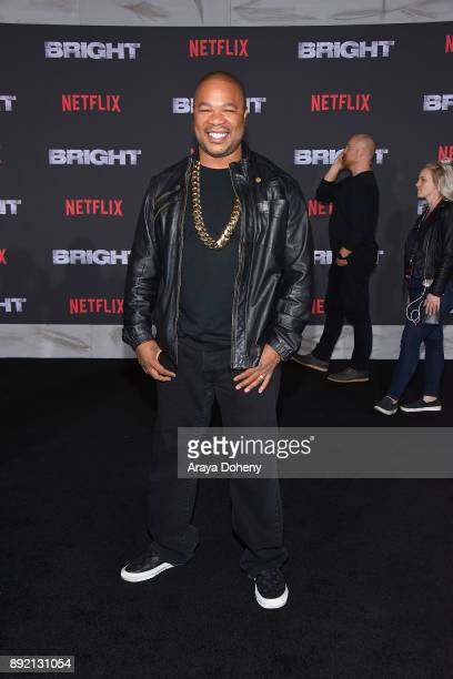 Xzibit attends the premiere of Netflix's 'Bright' at Regency Village Theatre on December 13 2017 in Westwood California