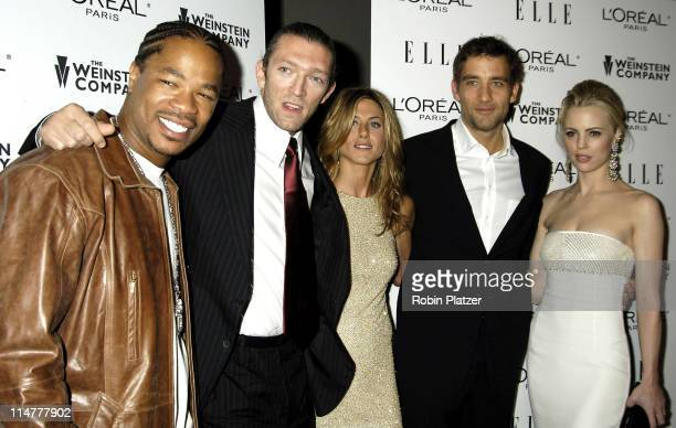 Xzibit Vincent Cassel Jennifer Aniston and Clive Owen and Melissa George