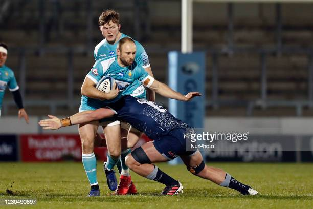 Y Worcesters Matt Kvescic during the Gallagher Premiership match between Sale Sharks and Worcester Warriors at AJ Bell Stadium, Eccles on Friday 8th...