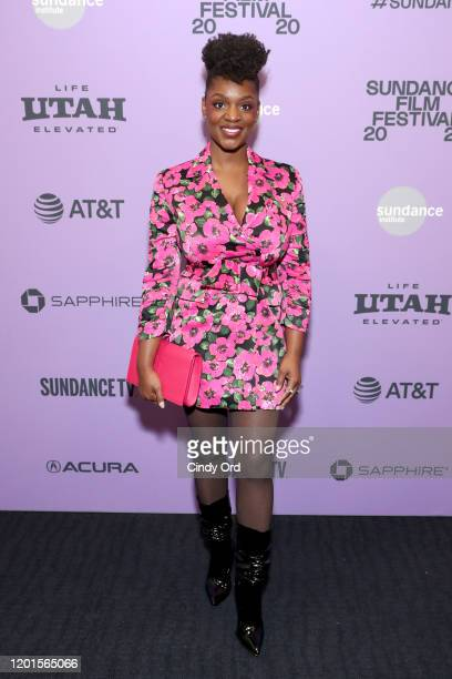 Yaani King Mondschein attends the Bad Hair premiere during the 2020 Sundance Film Festival at The Ray on January 23 2020 in Park City Utah