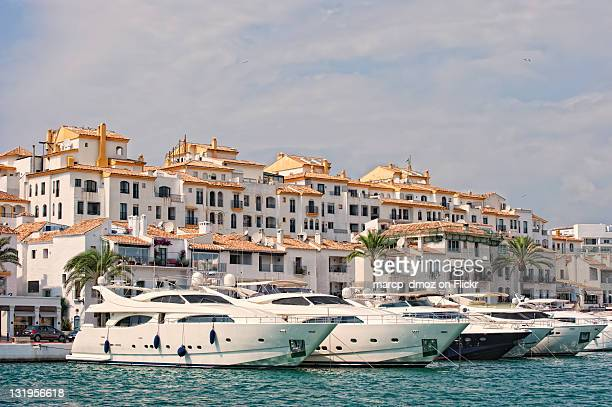 Yacht harbour in Puerto Banus