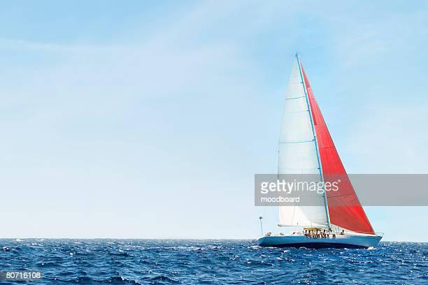 Yacht on Ocean