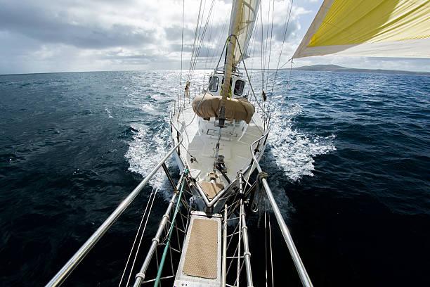 Yacht Sailing On The Southern Ocean. Australia Wall Art