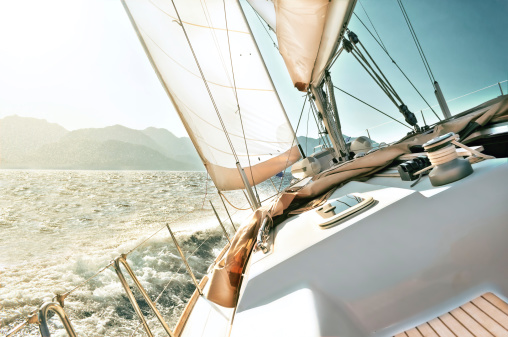 Yacht sailing 495746735