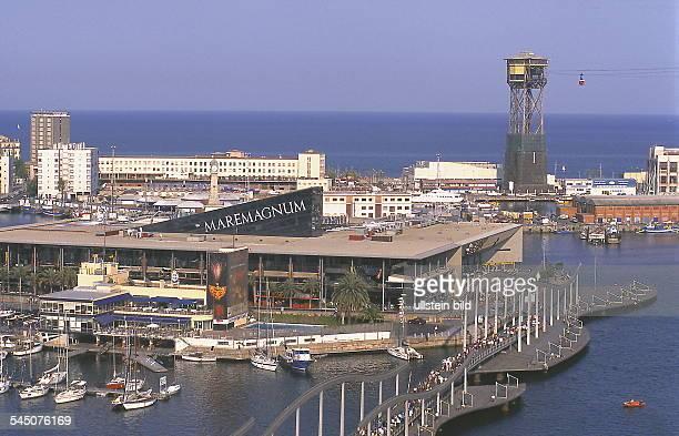 """Yachthafen und Vergnügungszentrum""""Maremagnum""""- 1999"""