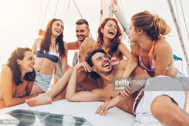 Segeln und Spaß