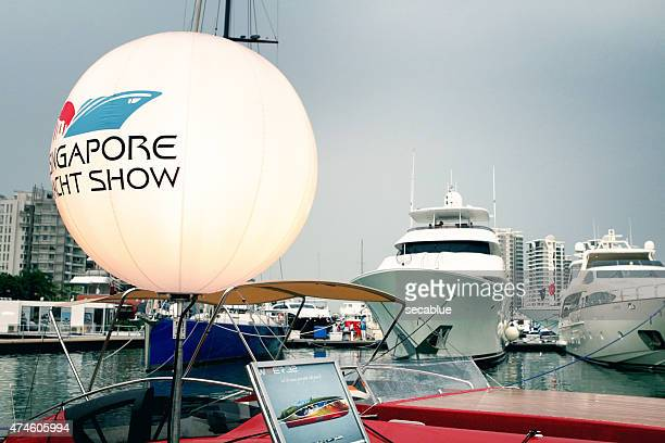 Yachten in Singapur yacht-show