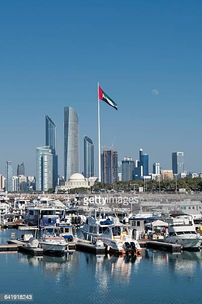 Yachts at the Abu Dhabi Marina