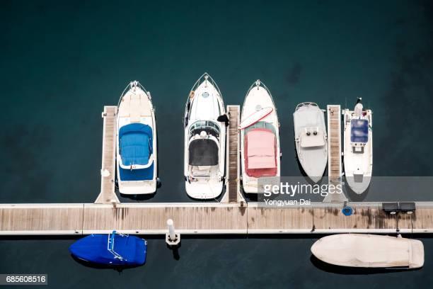 Yachts in Dubai Marina