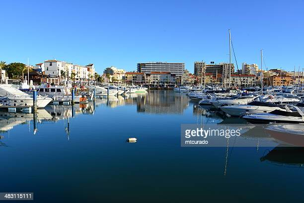 yachts in vilamoura marina, algarve, portugal - faro district portugal stock pictures, royalty-free photos & images