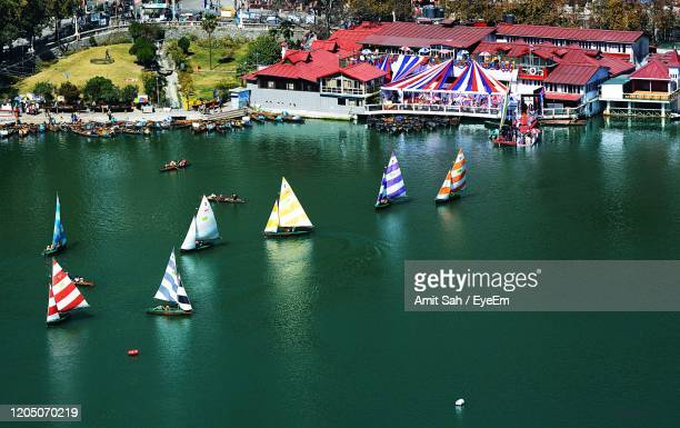 yachts race - uttarakhand stock pictures, royalty-free photos & images