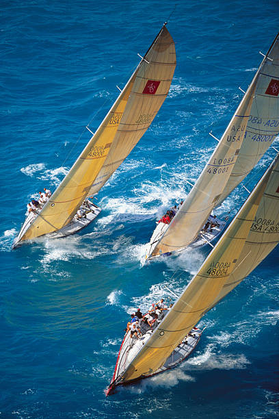 Yachts Sailing in Southern Ocean Racing Conference