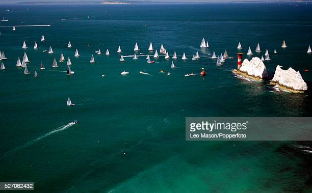 Yachts take part in the JPMorgan Asset Management Round the Island RaceThe world's largest and most famous yachting race the JPMorgan Asset...