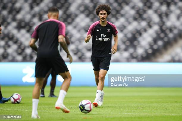 Yacine Adli attends Training session at Shenzhen Longgang Sports Center on August 3 2018 in Shenzhen China