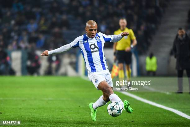 Yacine Brahimi of Porto during the Uefa Champions League match between Fc Porto and As Monaco at Estadio do Dragao on December 6 2017 in Porto...