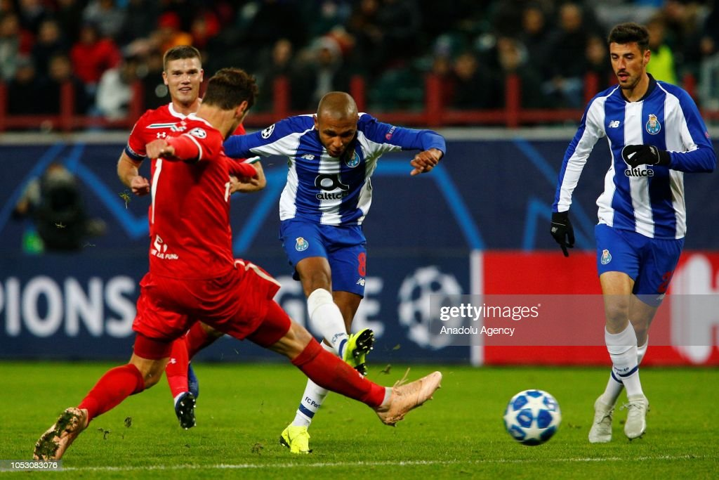 Lokomotiv Moscow vs Porto: UEFA Champions League : News Photo