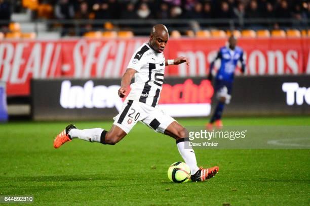 Yacouba SYLLA Troyes / Rennes 21eme journee de Ligue 1 Photo Dave Winter / Icon Sport