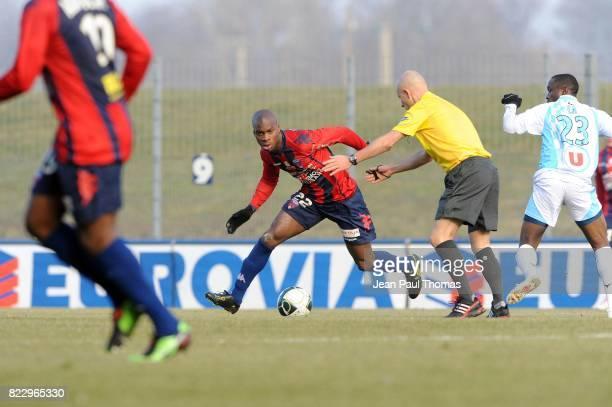 Yacouba SYLLA Clermont Foot / Tours 21e journee Ligue 2