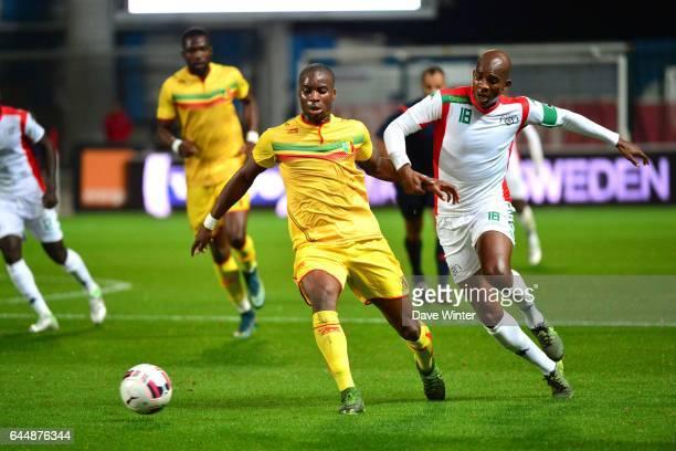 Yacouba Sylla / Charles Kabore Mali / Burkina Faso match amical Troyes Photo Dave Winter / Icon Sport