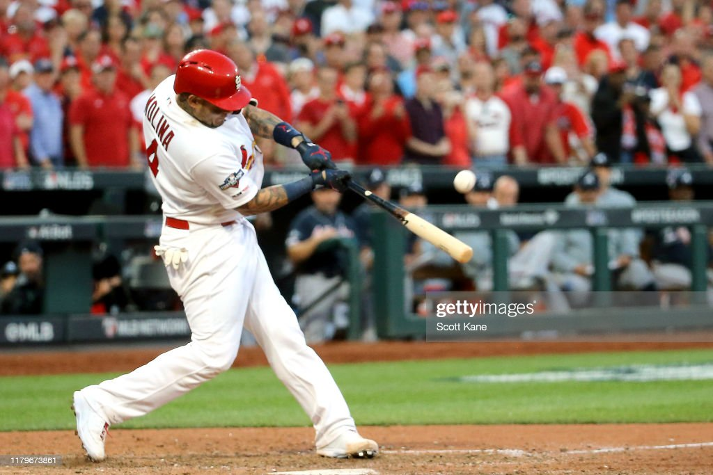 Divisional Series - Atlanta Braves v St Louis Cardinals - Game Four : News Photo