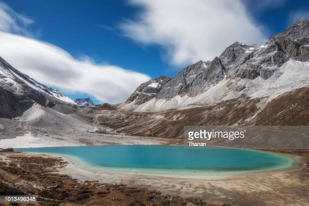 yading nature reserve - yunnan province stock pictures, royalty-free photos & images