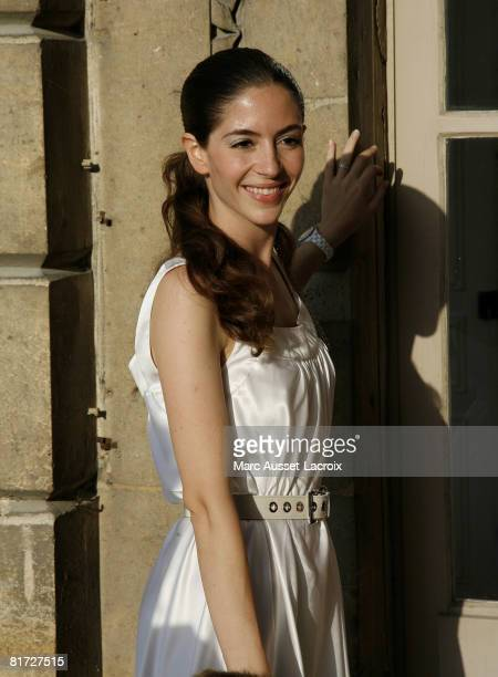 Yael Boon attends the launching of the 24eme Fete du Cinema at Ministere de al Culture on June 26 2008 in Paris France