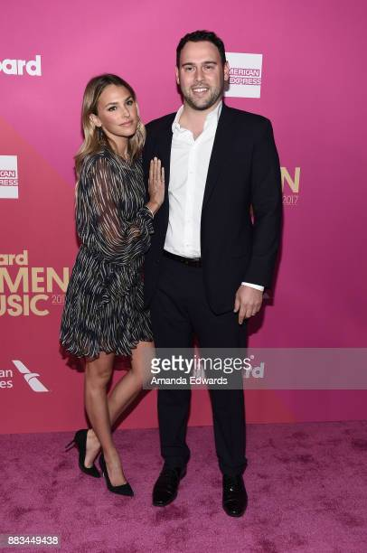 Yael Cohen Braun and Scooter Braun arrive at Billboard Women In Music 2017 at The Ray Dolby Ballroom at Hollywood Highland Center on November 30 2017...