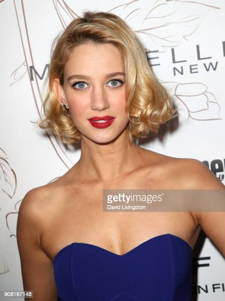 Yael Grobglas attends Entertainment Weekly's Screen Actors Guild Award Nominees Celebration sponsored by Maybelline New York at Chateau Marmont on...