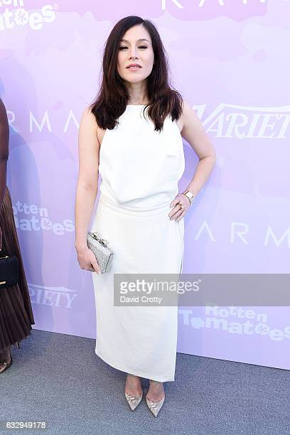 Yael Stone arrives at Variety's Celebratory Brunch Event For Awards Nominees Benefiting Motion Picture Television Fund at Cecconi's on January 28...