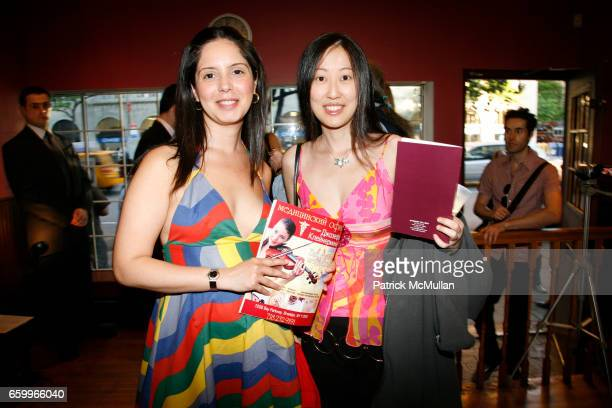 Yahaira and Sheila Wang attend LANA LUCAS 'Thru the Prism of Green Eyes' Opening at InterARt Gallery on May 21 2009 in New York City