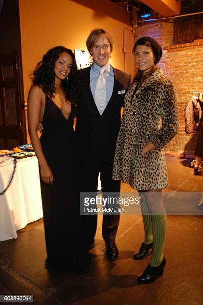 Yahaira Rodriguez, Mike McCauley and Dawn Dunning attend Young International Circle Benefit and Party for EL MUSEO DEL BARRIO at The Angel Orensanz...