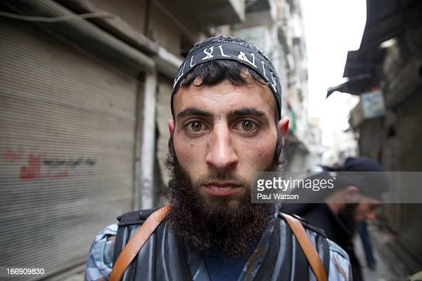 Yahea Ateq a fighter in the Islamist Jabhat alNusra faction was a stone mason before joining the civil war and returned to the fight just days after...