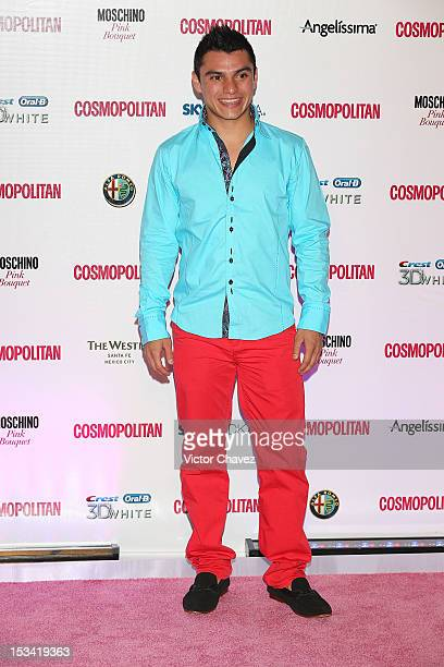Yahel Castillo attends the Cosmopolitan magazines 40th anniversary celebration at the Westin Hotel on October 4 2012 in Mexico City Mexico