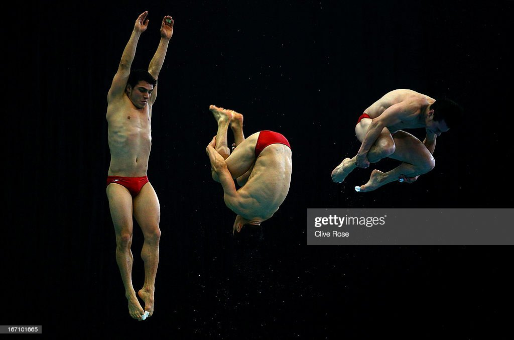 FINA/Midea Diving World Series 2013 - Day Two : News Photo