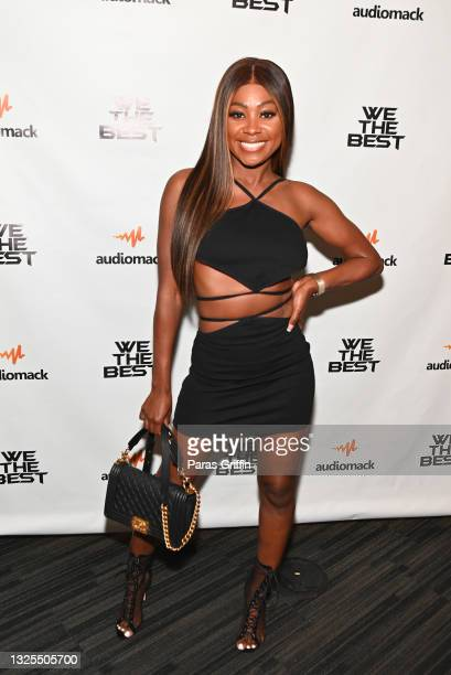 Yahne Coleman attends AudioMack Presents Beyond The Beat With DJ Khaled at The GRAMMY Museum on June 25, 2021 in Los Angeles, California.