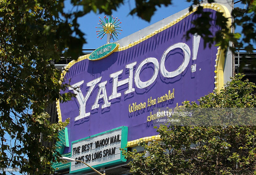A Yahoo! billboard is visible through trees on July 19, 2011 in San Francisco, California. Yahoo Inc. reported second quarter earnings of $237 million, or 18 cents per share, compared to $213 million, or 15 cents per share, compared to one year ago.