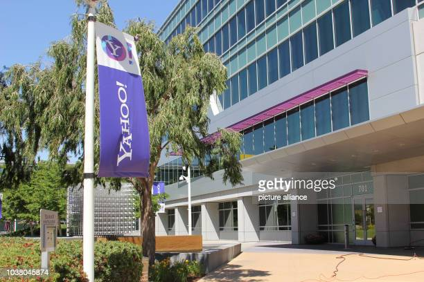 A Yahoo flag waves in front of the internet company's headquarters in Sunnyvale USA 19 May 2013 The internet pioneer is said to buy the blog platform...